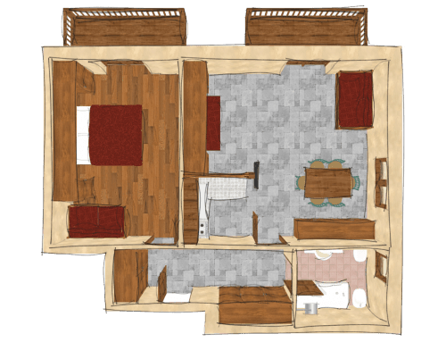 Two-bedroom Apartment, Type E