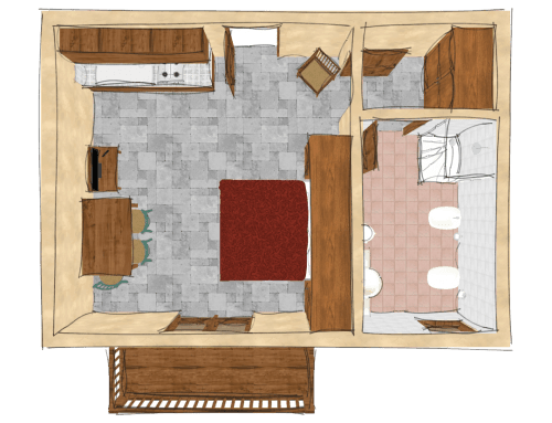One-Bedroom Apartment, Type A
