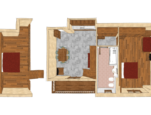Two-bedroom Apartment, Type F